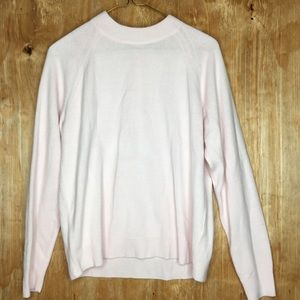 Carolyn Taylor SOFT baby pink sweater size medium